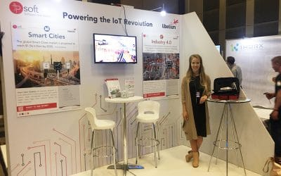 IP Soft, Libelium's South African distributor, at MTN Business IoT Conference & Awards