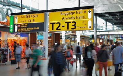 Meshlium Scanner to monitor passengers' activity at Manchester Airport