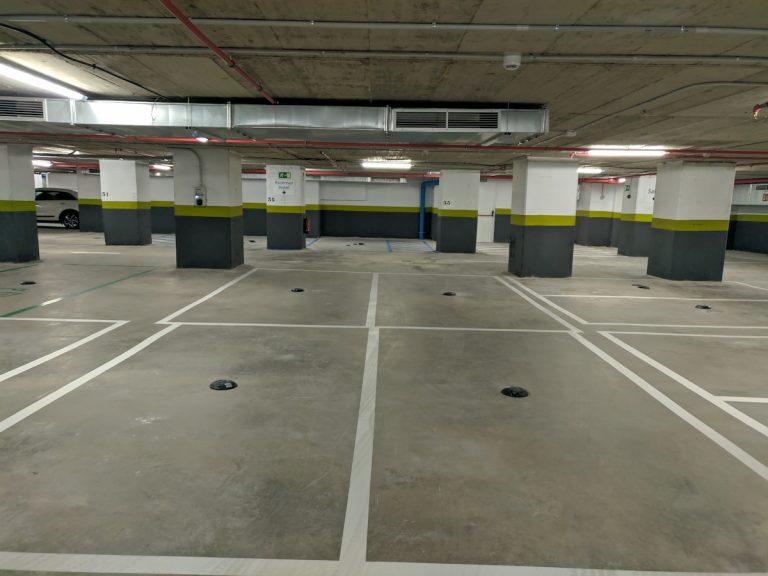 Parking Hotel Riu Madrid