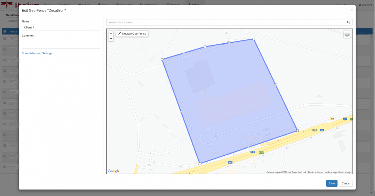 Smart tracking geofencing