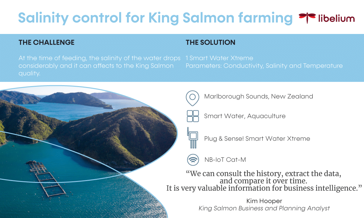live project king Salmon control with IoT